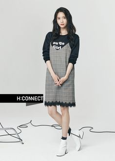 SNSD YoonA's pretty pictures from 'H:Connect' Korean Celebrities, Celebs, Korean Girl, Asian Girl, Girl Fashion, Fashion Outfits, Womens Fashion, Ugly Outfits, Yoona Snsd