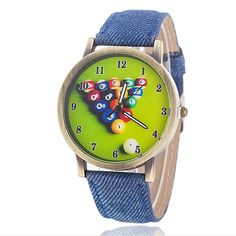 $6.50 (Buy here: http://appdeal.ru/8g7p ) New Fashion Casual Colorful  Watchband women Watches Luxury Denim Canvas Strap Along Quartz Watch women Wristwatch 5007 for just $6.50