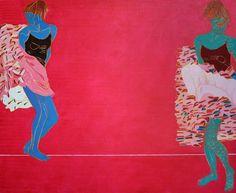 Iwona Zawadzka, Różowy, 2008 #art #contemporary #artvee