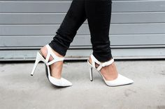 White shoe love - these shoes are $200+ found at charlotte russe for $30!! ME 2.0 - All White Party