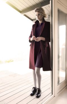 Tailored autumn/winter styles by Carolyn Donnelly The Edit Fall Winter, Autumn, What To Wear, Duster Coat, Winter Fashion, Women Wear, Dressing, Normcore, Coats