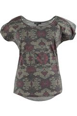 Sanne - shirt met gehaakt detail #boho #bohemian #autumn #fall16 #trend #seventies #70sboho #fashion #etnisch #paisley #franjes #kwastjes #fringes