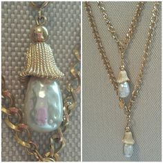 SALE: [HP] Vintage Sarah Coventry Necklace [HOST PICK: 6/26/15]  Ooooh so BEAUTIFUL!  Can be worn in several different ways.  Vintage Sarah Coventry is made with the BEST QUALITY!  They last forever!  You can see that from the pictures.  This is in AMAZING CONDITION and SHAPE.  Costume Jewelry at it's finest!  The pearls pendant part are removable.  Switch them around to change your look.  Can be worn long or short.  Detail is lovely on this! Sarah Coventry  Jewelry Necklaces