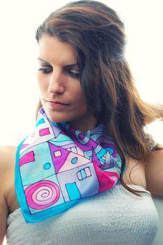 Premium hand painted silk scarves https://www.facebook.com/SilkywaySilkScarves