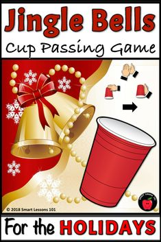 Christmas Music Game: Jingle Bell Cup Game Rhythm Activity Lesson for Christmas Music Therapy Activities, Preschool Music Activities, Movement Activities, Christmas Concert, Christmas Music, Music Lesson Plans, Music Lessons, Hanukkah Music, Music Worksheets