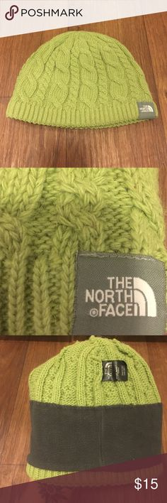 b8efd25258b North Face wool beanie Cute knit wool beanie with fleece lining inside  North Face Accessories Hats