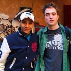 New/Old picture of Robert Pattinson and a fan in Morocco during filming of 'Queen of the Desert'
