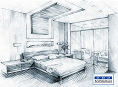 Simple Bedroom Sketch Design sketches bedroom: