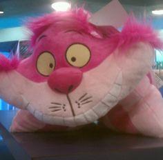 Disney Pillow Pet - Alice in Wonderland - The Cheshire Cat Pillow Plush - Cat Pillow, Neck Pillow, Disney Pillow Pets, Disney Parks Merchandise, Walt Disney Animation, Cheshire Cat, Plush Animals, Animal Pillows, Disney Stuff