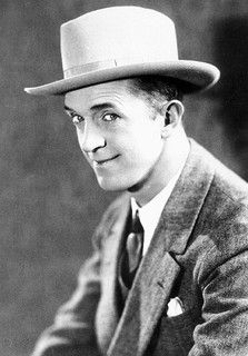 Stan Laurel, silent and talkie comedian. He was in a double act with Oliver Hardy. (1890-1965