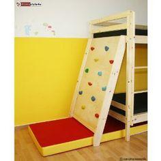 Kletterwand mit Fallschutz für Etagenbett, Hochbett, Kinderbett, Spielbett: Amazon.de: Küche & Haushalt