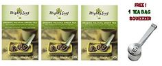 Mighty Leaf Tea , Organic Green Hojicha ,(with FREE Tea Bag Squeezer) (3 Pack) ** Visit the image link more details.