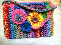 Freeform crochet purse ipad carrier cover by RobinMeadDesigns, $25.00