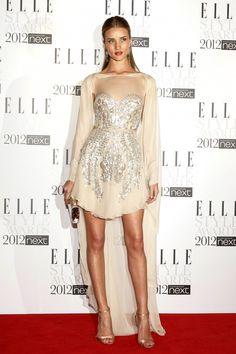 Rosie Huntington-Whiteley  Elle Style Awards 2012