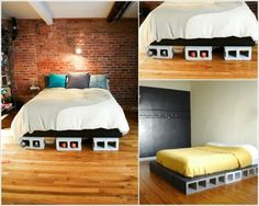 20 Creative Uses of Concrete Blocks in Your Home and Garden Bed