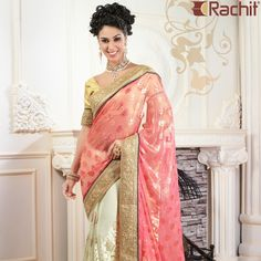 Fall in love with the traditional fashion styles wearing our most adorable designer sarees.  #fashion #sarees