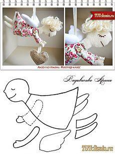 Ангел из ткани. Мастер-класс » Дизайн & Декор своими руками