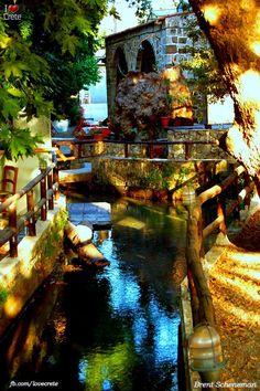 river armenous Apokoronas Crete