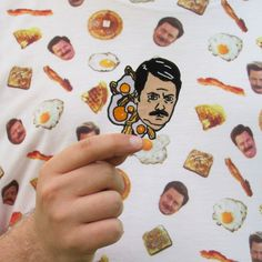 Ron Swanson Embroidered Patch