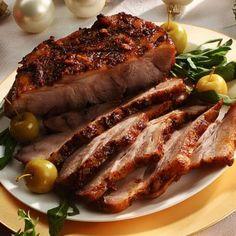 Pulpă cu ceapă caramelizată • eCuisine Jacque Pepin, Romanian Food, Soul Food, Steak, Pork, Food And Drink, Cooking, Beauty, Home