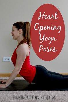 Heart opening yoga poses: Five great poses to help you loosen up your tight shoulders and open your heart!