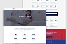 Web design project for a courier services company in Indonesia.  #web #webdesign #website #courier #wordpress #indonesia