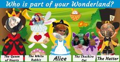 Who is part of your Wonderland?