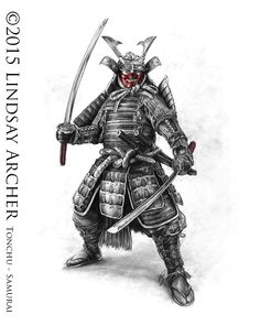 Samurai by LinzArcher.deviantart.com on @DeviantArt