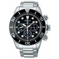 eaee47be81ac Details about Seiko Prospex SBDL047 Diver Scuba Solar Chrono 200m Watch Free  Shipping EMS