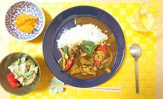 2016/8/27 唐突にカレーが食べたくなり、夏野菜をボンボン投入。ゴーヤと大根のツナマヨ和えと人参の酢漬けサラダで味のバランスはかなり良かった!