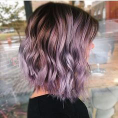 Subtle lavender hair color for 2017 new hair color ideas & trends for 2 Lavender Hair Colors, Lilac Hair, Hair Color Purple, Purple Lilac, Lavender Highlights, Subtle Purple Hair, Pastel Highlights, Balayage Highlights, Blue Hair