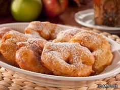 Apple Fritters - Make these fried fall treats in your own kitchen with our easy recipe for Apple Fritters!