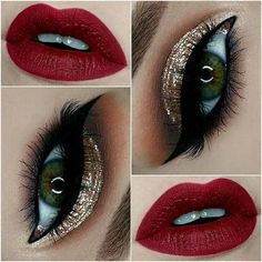 Best 11 Christmas Make Up Ideas https://fazhion.co/2017/12/07/christmas-make-ideas/ 11 Christmas Make Up Ideas you need to know now to go to any Christmas Dinner, get together, custom parties, even to office parties