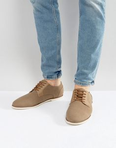 Call It Spring Gaenburh Lace Up Shoes In Stone - Stone