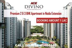 Ace Divino at Greater Noida West Greater Noida by Ace Infracity Developers Pvt Ltd. Under Construction project, Residential property starting from Only. Open Project, Metro Station, Under Construction, Acre, Extensions, 1, Seals, Towers, Easy Access