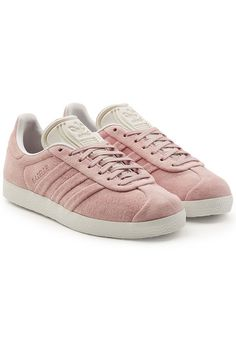 ADIDAS ORIGINALS | Gazelle Stitch and Turn Suede Sneakers #Shoes #ADIDAS ORIGINALS