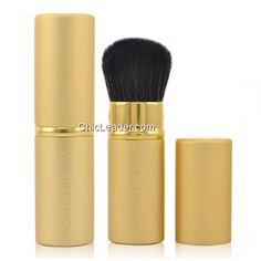 Multifunctional Cosmetic Kabuki Brush Retractable Blush Powder Foundation Brush