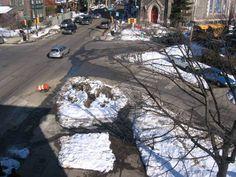 Snow inspiring better street design, more pedestrian space