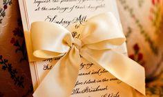 invitation bow