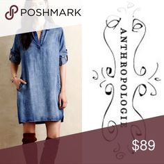 Spotted while shopping on Poshmark: Anthropologie Cloth and Stone Shirtdress! #poshmark #fashion #shopping #style #Anthropologie #Dresses & Skirts