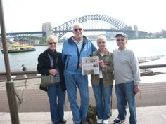 Love this idea by @YDR online | Sydney, Australia   Photo posted by: Donna Schmitt   Donna and John Schmitt, and Phyllis and Don Bovey, recently visited the Opera House in Sydney, Australia during their trip to Australia, New Zealand and Fiji.