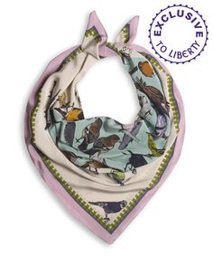 Silken Flavours scarf at Liberty