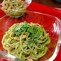 青ちそドレッシング作り置き10日はokで す - 13件のもぐもぐ - 和ジェノベーゼ蕎麦 by tmihara