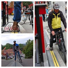 Norway has invented a bicycle escalator - Imgur