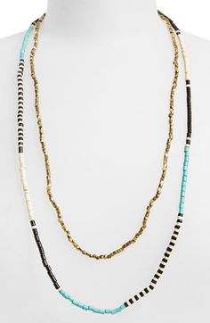 Panacea+Beaded+Multistrand+Necklace+available+at+#Nordstrom