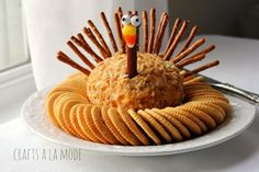 Thanksgiving Treats Kids Can Make The cutest treats to keep kids busy on Thanksgiving Day from Food Network and others.The cutest treats to keep kids busy on Thanksgiving Day from Food Network and others. Thanksgiving Snacks, Thanksgiving Turkey, Thanksgiving Decorations, Thanksgiving Blessings, Hosting Thanksgiving, Happy Thanksgiving, Fall Recipes, Holiday Recipes, Lunch Recipes