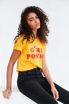 The product Girl Power Graphic Tee-Mustard is sold by cup-of-tee in our Tictail store.  Tictail lets you create a beautiful online store for free - tictail.com