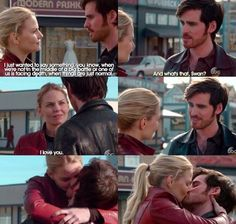 5x22 - An Untold Story - Emma & Killian