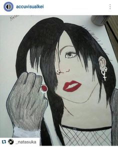 Over on Instagram, @_natasuka shared this fantastic drawing of Tsuzuku from Mejibray.