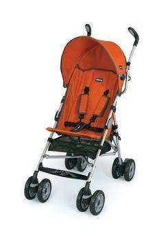 Chicco Capri Lightweight Stroller, Tangerine by Chicco